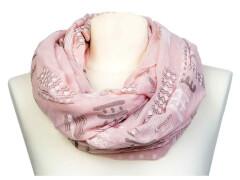 Loop Scribble rosa