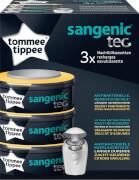Sangenic TEC 3er Pack Nachfüllkassetten für Windeleimer Tommee Tippee Zitrus
