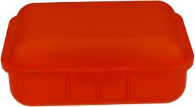 Brotbox + 1 Innenteiler Orange