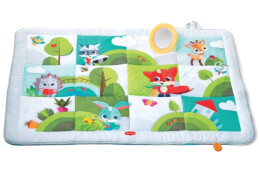 Tiny Love Super Mat, Krabbeldecke XXL, Meadow Days
