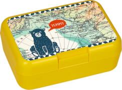 Die Spiegelburg - Butterbrotdose Reisezeit Kids, gelb