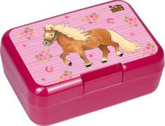 Die Spiegelburg - Butterbrotdose Mein kleiner Ponyhof, rosa
