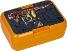 Die Spiegelburg - Butterbrotdose T-Rex World, orange, Dinosaurier
