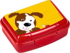 Die Spiegelburg - Freche Rasselbande Mini-Snackbox Hund, ca. 16 x 12 x 4 cm