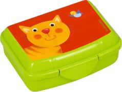 Die Spiegelburg - Freche Rasselbande Mini-Snackbox Katze, ca. 9,5 x 6,5 x 3,5 cm