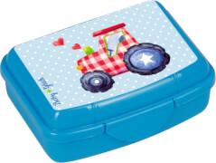 Die Spiegelburg - BabyGlück Mini-Snackbox Traktor,  ca. 9,5 x 6,5 x 3,5 cm