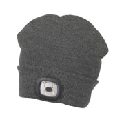 Sterntaler LED-Mütze anthrazit mel. Gr.53