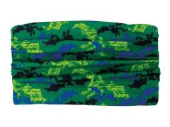 Multifunktionstuch Drachen grün