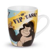 Tasse ''VIP-Tasse'' Porzellan