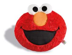 Kissen Elmo Kopf figürlich, c
