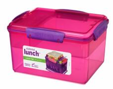 Sistema Lunchbox, 4-fach unterteilt, 2,3 l
