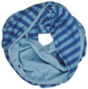 Kinderloop Streifen blau 120 x 20 cm