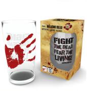 Glas 500ml The Walking Dead ''Fight the Dead''