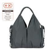 Lässig Green Label Neckline Bag Spin Dye black mélange