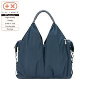 Lässig Green Label Neckline Bag Spin Dye blue mélange