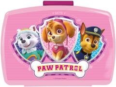 p:os 29226 Paw Patrol Girl Brotdose mit Einsatz