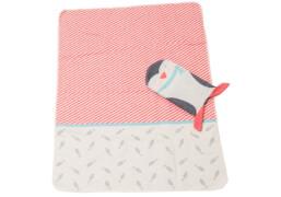 Decke Juwel in Puppe Pinguin 70 x 90cm