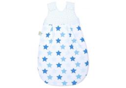 Schlafsack Sterne blue, Größe 110 cm