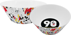 Schale Disney Mickey 90 Jahre Muster, 400ml, Porzellan
