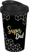 Coffee to go Becher Super Dad Gold, 400ml, PP