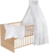 Schardt Komplett-Kinderbett CLASSIC natur, Dess. ELLI