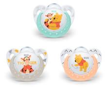 NUK Disney Winnie Pooh Silikon-Schnuller Gr. 1