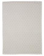ALVI Microfaserdecke Raute taupe 75 x 100 cm
