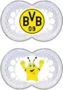 MAM Dortmund Silikon Schnuller 16 M+