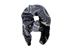 Schal Mandala schwarz