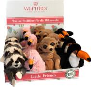 Wärmetier Minis, Little Friends, für die Mikrowelle oder Elektrobackofen