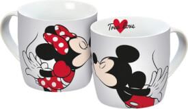 Tasse Disney Mickey KISS 300ml Porzellan