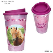 Depesche 6011 Horses Dreams Trinkbecher-To-Go