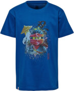 Lego Shirt 1/2 Arm, mit Druck, Größe 104, blau