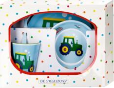 Melamin-Geschenkset Traktor (Wenn ich mal groß bin)