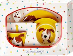 Melamin-Geschenkset Hund  Freche Rasselbande