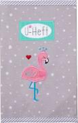 U-Heft Hülle Flamingo BabyGlück