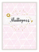 Mutterpasshülle - Mutterpass (rosa)