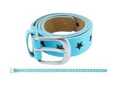 Gürtel Sternchen blau 65 cm