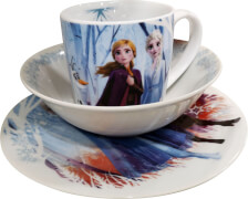 Disney Eiskönigin 2 - Kindergeschirr Eiskönigin 2 3teilig Porzellan