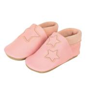 Sterntaler Baby-Krabbelschuh Leder rosa Gr.18