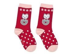 Sweety Socks Katze rot 27/30