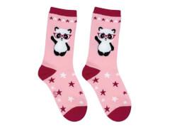 Sweety Socks Panda pink 31/34