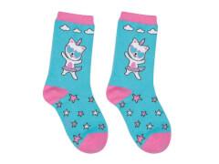 Sweety Socks Kittyhorn türkis 27/30