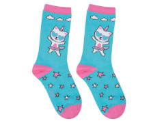 Sweety Socks Kittyhorn türkis 31/34