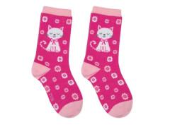Sweety Socks Katze rosa 27/30