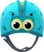 Reer SafeHeadBaby Babyhelm ''Eule'', blau-grün