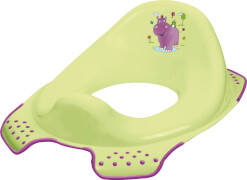 Kinder- Toilettensitz Hippo, lime