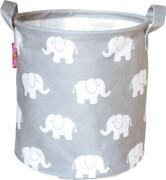 Aufbewahrungskorb BabyGlück, grau  Elefant