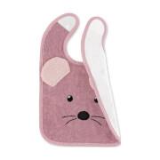 Sterntaler Plastik-Klettlätzchen Mabel rosa