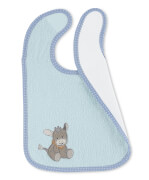 Sterntaler Plastik-Klettlätzchen Emmi hellblau